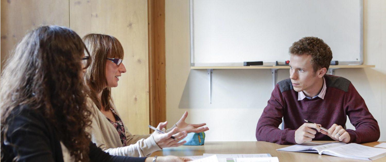 Derby Language School - Teacher Listening