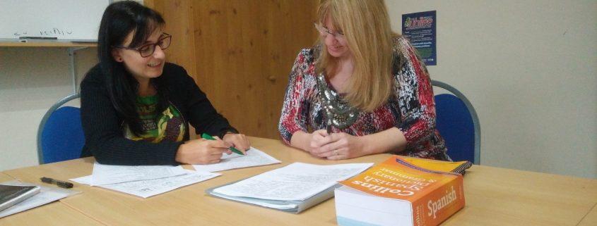 Spanish Lesson - Derby Language School